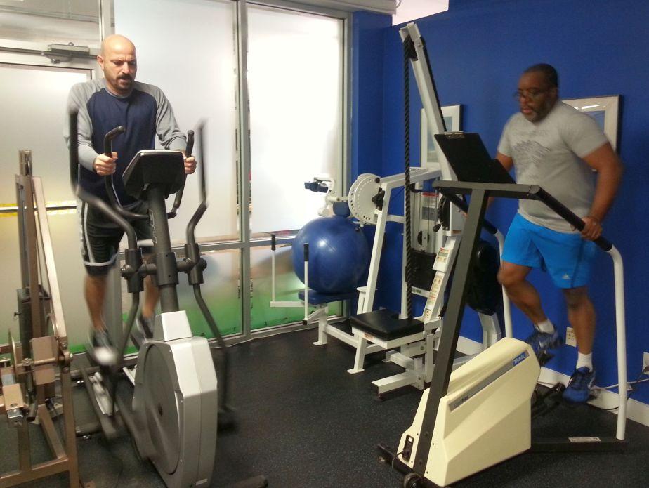 Group aerobic workouts