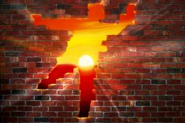 Brick-Wall-Breakthrough